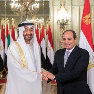 الإمارات ومصر علاقات استراتيجية
