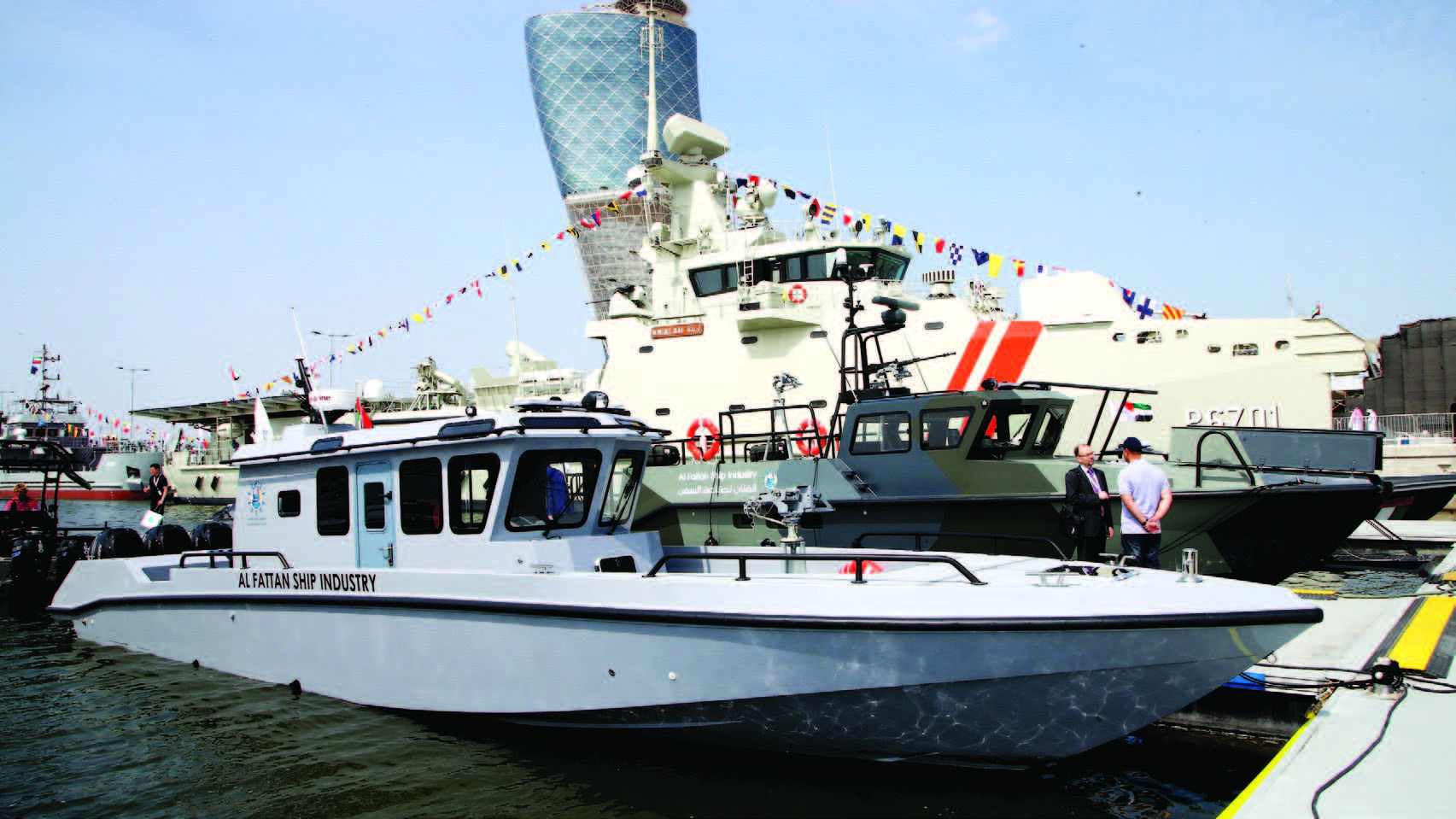 قدمت خدماتها لأساطيل خليجية ودخلت إفريقيا وشبه القارة الهندية : «أبوظبي لبناء السفن» تلبي الاحتياجات البحرية C3660