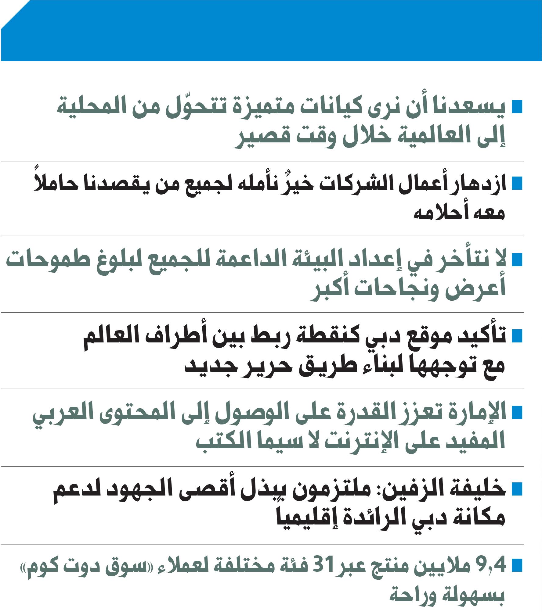 Mohammed bin Rashid: UAE is a preferred option for international