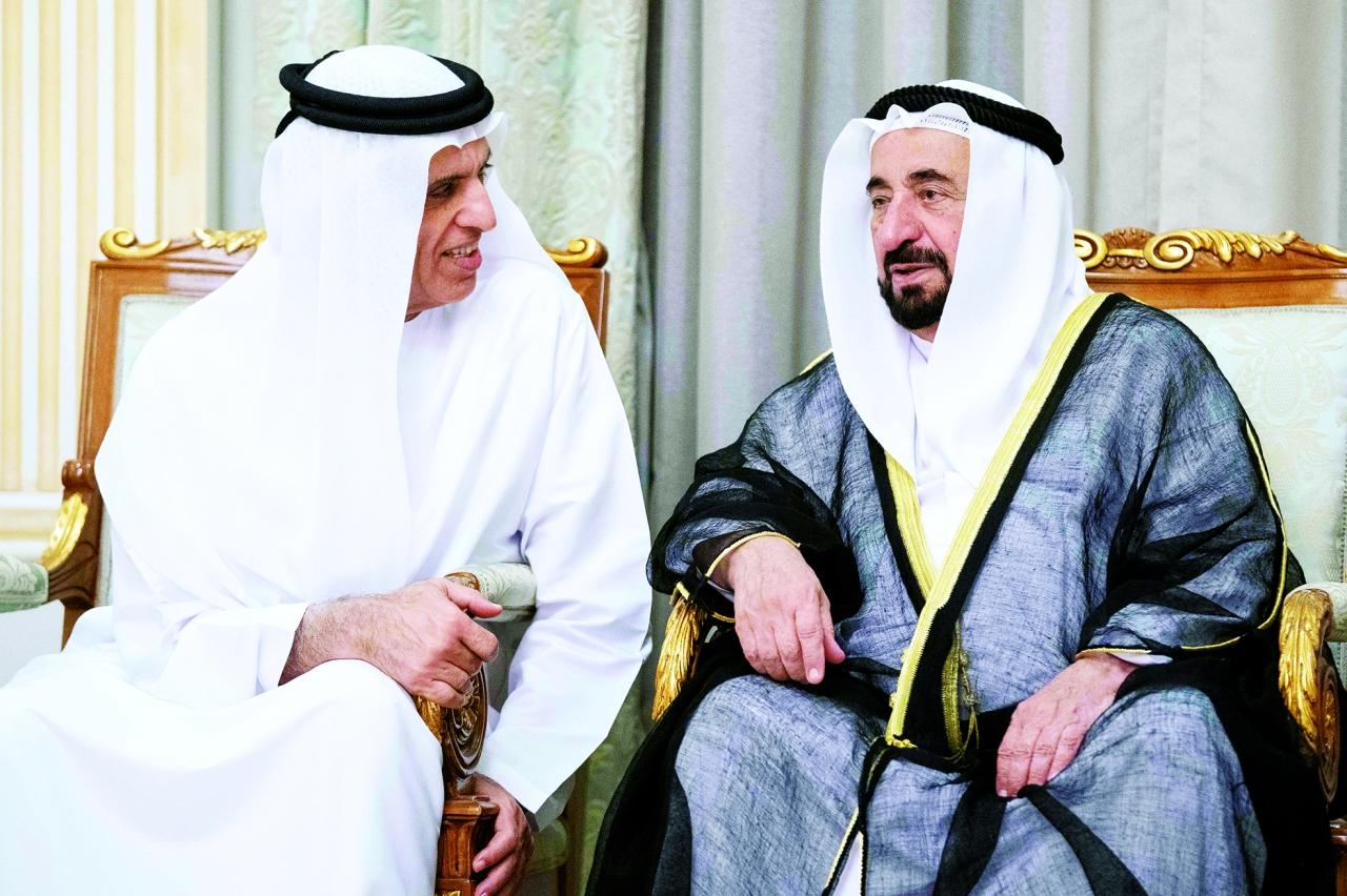 Sultan Al-Kasimi approves Hamad al-Sharqi and Saudi Bin Sakr's