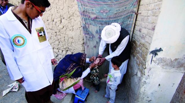 كما تم خلال شهر فبراير تطعيم 1764601 طفلا